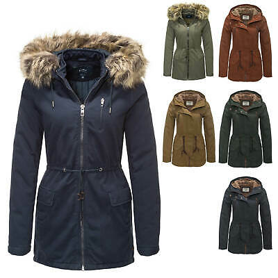 Only Damen Parka Winterjacke Kurzmantel Wintermantel Günstig Angebot SALE %