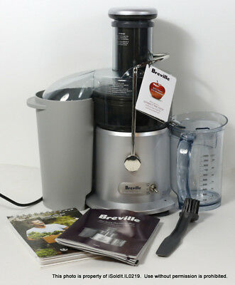 Breville Juice Fountain Plus Model JE98XL 850-Watt Juice Extractor Juicer
