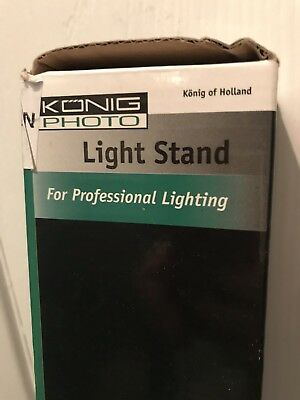 Konig KN-LS10 Photography Light Stand Brand New In Box