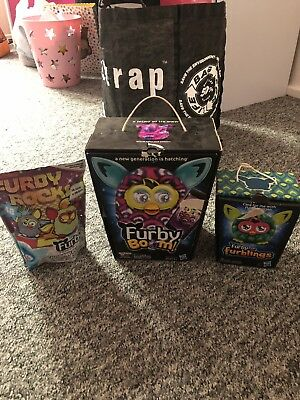 Furby Boom and Furblings Boxed Great Condition Interactive
