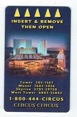 CIRCUS CIRCUS Las Vegas Casino Room KEY Hotel -  Aerial Property View /Tent Sign