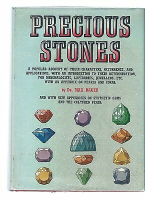Precious Stones by Max Bauer h/c 1969 Characters Occurrence Applications
