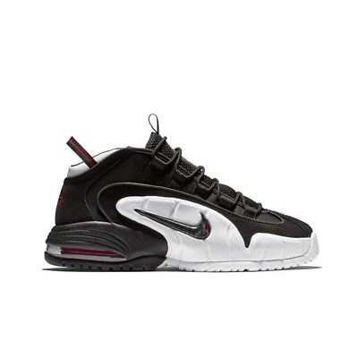 Nike Air Max Penny (Black/Black-White/University Red) Men's Shoes 685153-003