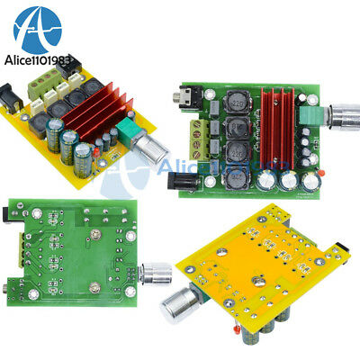 Green/Yellow TPA3116D2 NE5532 100W OPAMP Audio Digital Subwoofer Amplifier Board
