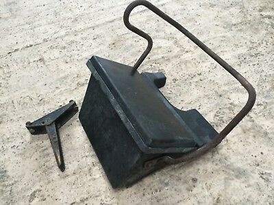 Super Q Cab Ford Tractor Toolbox, Passenger Seat - NV339