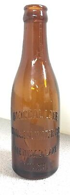 Early Medical Lake, Wash. MINERAL WATER CO. Embossed Crown Top Bottle