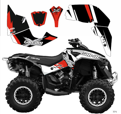 771 GRAPHICS BRP Can-am 1000 Renegade decals kit 2006 -2018