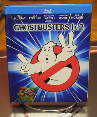 Ghostbusters/Ghostbusters 2 (Blu-ray Disc, 2014, 2-Disc Set, Mastered in 4K)