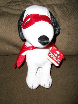 """Snoopy by Peanuts, 8"""" tall, Masked Marvel"""
