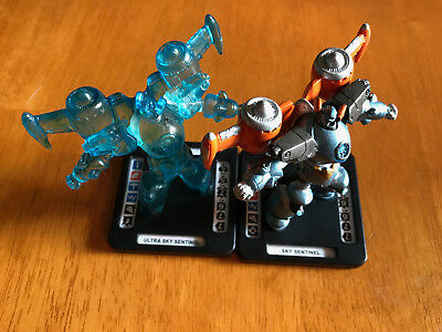 Monsterpocalypse - Classic Sky Sentinel Series 1 Rise #23 & #24