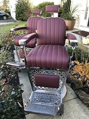 PAIDAR (2) BARBER CHAIR FROM 1930s -Great Condition