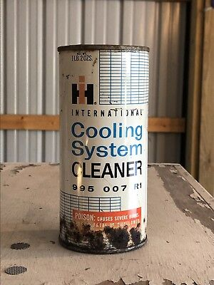 international harvester Cooling System Cleaner Can