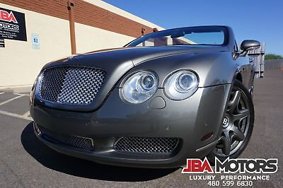 2008 Bentley Continental GTC GT Convertible Mulliner Package ~ Dealer Serviced!