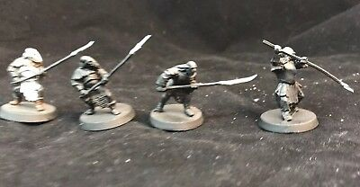 4 Mordor Orcs Spears GW LOTR Games Workshop Lord Of The Rings