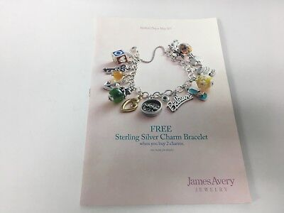 James Avery Jewelry Catalog Catalogue 2014 Charm Bracelet