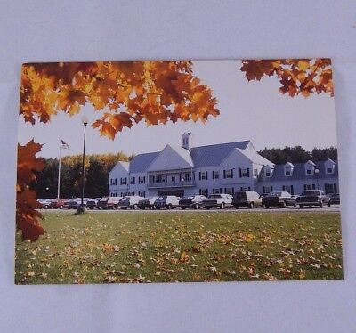 Vintage Post Card COLLEGE OF ST JOSEPH Rutland Vermont Unsent Autumn Leaves Fall