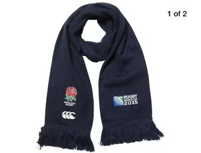 RUGBY WORLD CUP ENGLAND 2015 SCARF By CANTERBURY ENGLISH ROSE