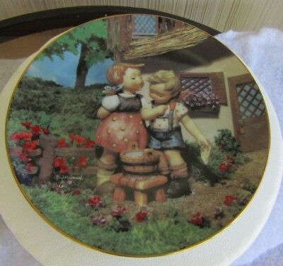 Danbury Mint Limited Edition MJ Hummel Plate SQUEAKY CLEAN  #MD9688 Mint  1992