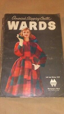 MONTGOMERY WARD VINTAGE 1959 FAll WINTER CATALOG Vintage Toys Vintage Clothes