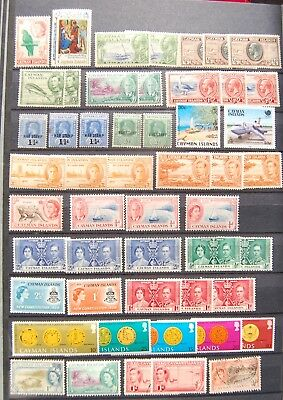 1127-18  51 MNH/Unused Hinged/Used Cayman Islands Stamps
