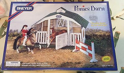 Breyer Ponies Barn #7010 New In Box 1996