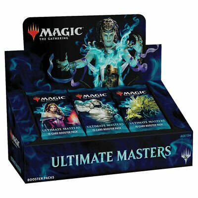 Magic the Gathering MTG Ultimate Masters Booster Box w/ 24 Boosters