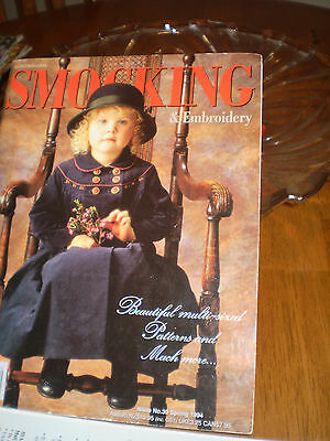 Australian Smocking & Embroidery #30~Dresses~Rompers~Coat~Knickerbockers Suit