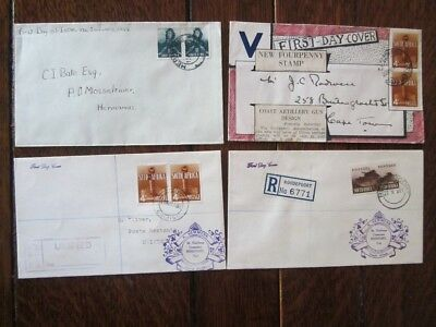 Südafrika   South   Africa   George   Vi     9   Old     Letters    Fdc