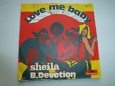 Sheila B. Devotion-Single-Love Me Baby-Polydor
