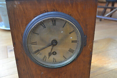 fusee bracket clock for restoration,possibly military?