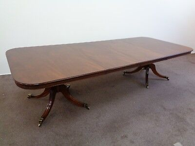 Antique Regency Mahogany Tea Table In The Style Of William Trotter