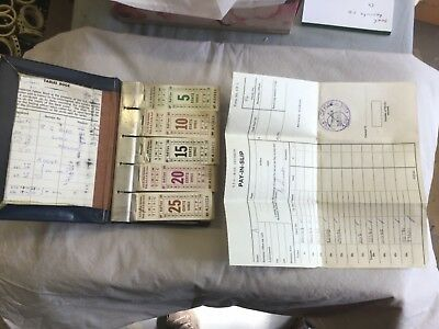 STA Rail ticket book with tickets and documentation