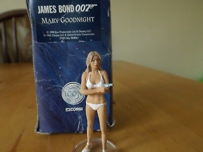 Corgi Collectible Icon Figures James Bond 007 Mary Goodnight #fo4061 Boxed