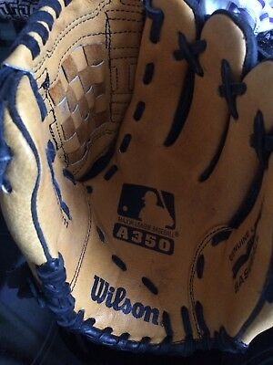 "Wilson 11"" baseball glove And 2 Official League Balls - Hardly Used"