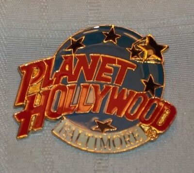 Planet Hollywood Baltimore Maryland Pin Button Restaurant