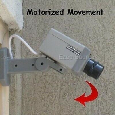 Wholesale Lot Of 6pc Of Indoor Outdoor Dummy Security Camera w/ Motion Sensor