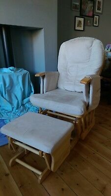 Cosatto Glider Maternity Chair + Foot Stool