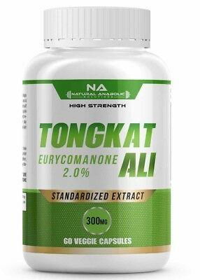 Tongkat Ali Root Extract Standardized 2% Eurycomanone Highest Strength On Ebay