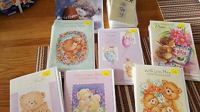 job lot of cards mothers day,wedding regret, easter,wedding invit.