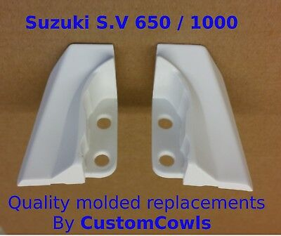 Suzuki sv650 sv 1000 seat cowl bracket grab bar end piece fairing infills only