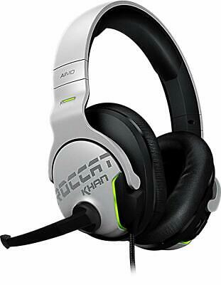 Roccat Khan Aimo 7.1 Hi Resolution RGB Gaming Headset - White