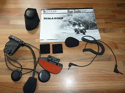 Scala Rider Q2 Spares Clamp Speakers Microphone Carry Case etc