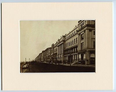 A Mounted Print Of Eversfield Place St Leonards nr Hastings East Sussex c1875