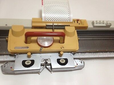 Empisal Knitmaster Model 260K Knitting Machine With Manuals