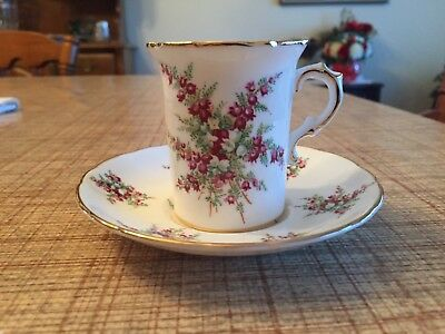 Hammersley & Co England Bone China Collectible Tea Cup & Saucer - Mint