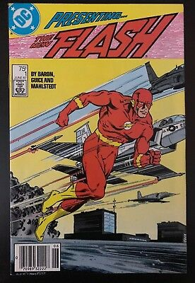 The Flash #1 (June 1987, DC) VF/NM Teen Titans App.!!!!