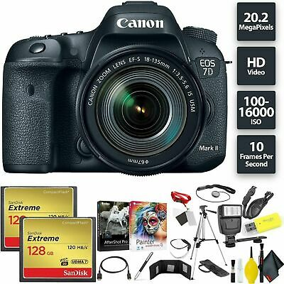 Canon EOS 7D Mark II DSLR Camera Bundle0274