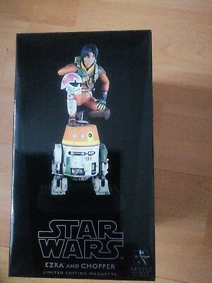 Star WARS Ezra and Chopper Maquette Gentle Giant Neu und Limitiert 390/500 LDT