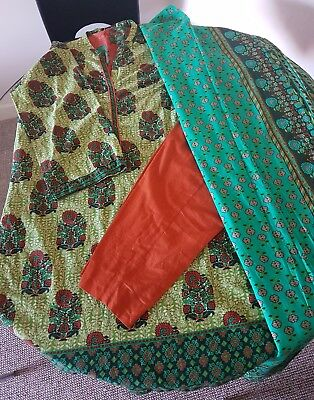 J. original ready to wear 3pc uk size 10 suit, only worn once. Khaadi