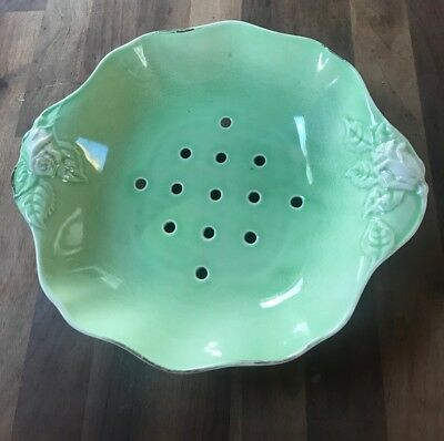 Antique pierced with holes Meat Platter